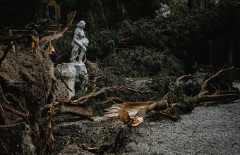 «Неудачное сочетание — сильный дождь, быстрый ветер и много холодного льда». На Верону обрушился шторм