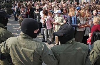 Женский марш в Минске