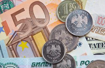 Курс евро снова превысил 90 рублей