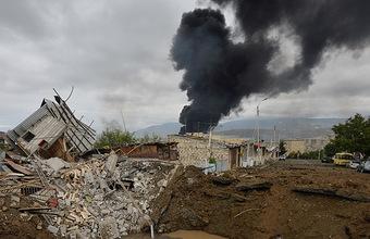 «Прямо сейчас бомбят». В Азербайджане и Армении — новые обстрелы