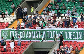 В Грозном избили арбитра после матча «Ахмат» — «Спартак»