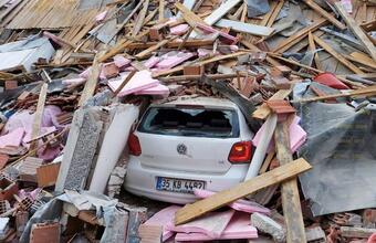 Землетрясение на западе Турции