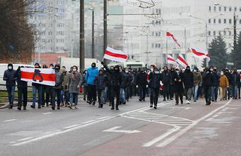 В Минске завершились локальные акции протеста