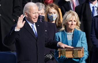 Инаугурация нового президента США Джо Байдена