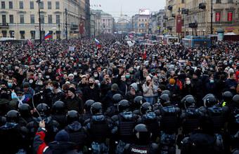 В России и за рубежом прошли акции протеста