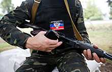 Автомобиль миссии ОБСЕ подорвался на фугасе под Луганском