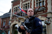 Захватчики церкви во Франции кричали «Аллах Акбар!»