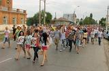 Жители Пугачева снова перекрывали дорогу