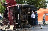 «КамАЗ», протаранивший автобус под Подольском, нельзя было эксплуатировать