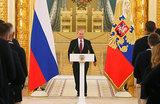Путин — олимпийцам: «Недальновидные политиканы не оставляют в покое и спорт»