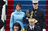 Инаугурационный наряд Мелании Трамп цвета «сахарная бумага»