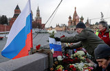 Марш памяти Немцова: меньше скорби, больше лозунгов