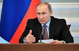 Путин: «Тема коррупции — не для авантюристов»