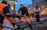 В Москву вернулись 9-балльные пробки: центр города на ремонте