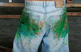 Мода на грязь. На смену рваным приходят джинсы с пятнами земли