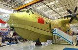 Китай испытал крупнейший в мире самолет-амфибию
