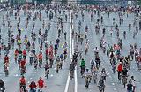 Всем пересесть на велосипеды — Москву перекрывают