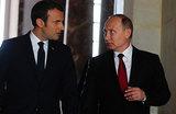 Встреча в Версале: о чем Путин и Макрон беседовали почти три часа