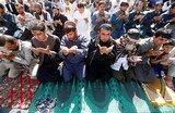 Мусульмане отмечают Ураза-байрам: шесть раненых, Эрдоган в обмороке и шквалистый ветер