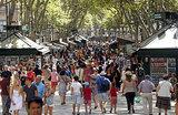 Испанская атака: фургон наехал на толпу в туристической зоне Барселоны