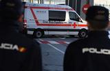 Грузовой фургон протаранил людей в центре Барселоны