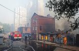 Пожар в Ростове: погиб один человек, основная версия МЧС — поджог