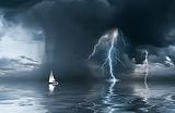 На Черное море идут смерчи