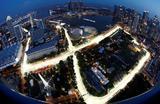 Городская трасса Формулы-1 Марина Бей в Сингапуре.