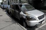 «Матильда»: подозреваемые в поджоге машин у офиса адвоката Учителя задержаны