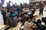Пассажиры «ВИМ-Авиа»: «Все в панике, спать негде, сидеть негде»