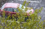 Первый снег в Москве. Автомобилистам рекомендуют перейти на зимнюю резину