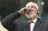 Принятие яда в Гаагском суде. Боснийский генерал совершил шокирующий политический жест