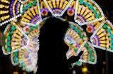 Новогодняя иллюминация в Валлетте, Мальта.