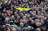В Киеве — очередной «Марш за импичмент», но без Саакашвили