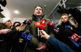 Саакашвили явился в прокуратуру, но допроса не получилось