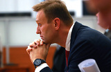 Навальный ждет разблокировки своего сайта