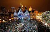 На фестивале света Luminale во Франкфурте.