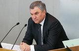 Володин предложил уголовное наказание за исполнение американских санкций