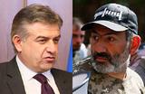 Ситуация в Армении: Карапетян против Пашиняна
