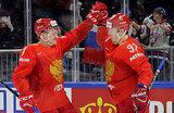 Изящно и зрелищно: российские хоккеисты обыграли словаков
