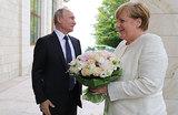 Bild: букет Путина оскорбил Меркель