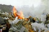 На подмосковном мусорном полигоне «Часцы» произошел пожар