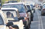 Без бензина: 30 автомобилей застряли на платной трассе М-11