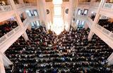 Празднование Ураза-байрама в Московской соборной мечети.