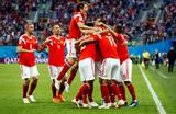 Сборная России одолела египтян со счетом 3:1 и вышла в плей-офф