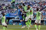 Матч группового этапа ЧМ по футболу между сборными Нигерии и Исландии.
