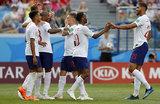 Сборная Англии с разгромным счетом выиграла у футболистов Панамы
