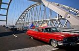 Первый крымский фестиваль автомобилей «Мост».