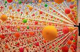 Инсталляция «Atomic: full of love full of wonder» из более чем 50000 шариков в художественной галерее Нового Южного Уэльса в Сиднее, Австралия.