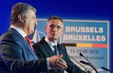Порошенко выступил на саммите НАТО перед пустыми стульями